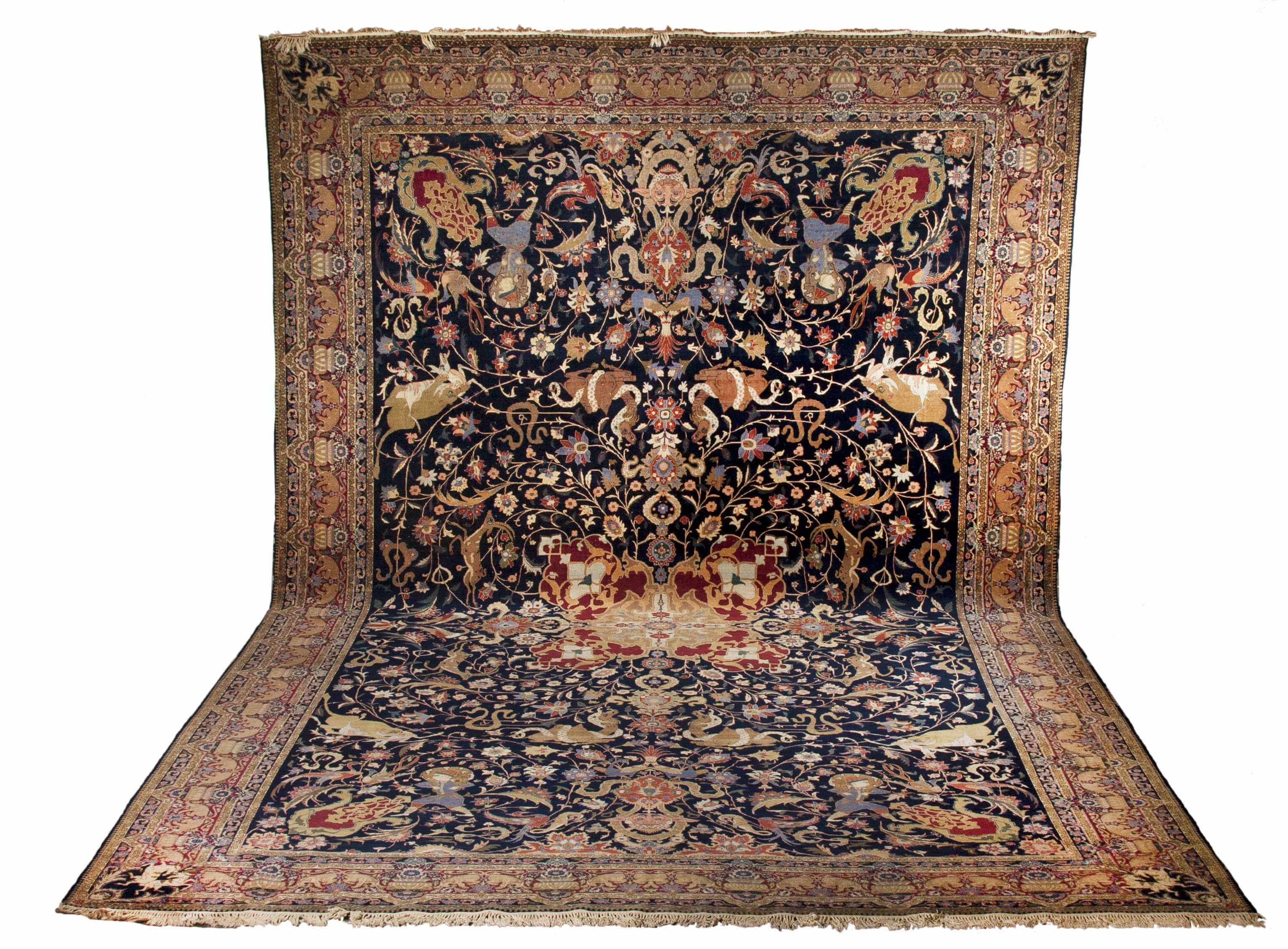 how to spot clean oriental rugs